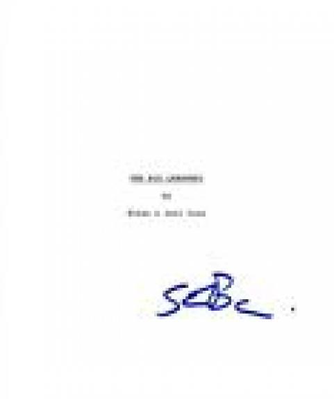 Steve Buscemi Signed Autographed THE BIG LEBOWSKI Full Movie Script COA VD