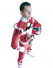 Steve Cardenas Signed Autographed 8x10 Photo Red Ranger Power Rangers COA