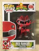 Steve Cardenas Signed Autographed  Red Ranger  Funko Pop JSA COA 1