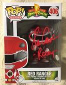 Steve Cardenas Signed Autographed  Red Ranger  Funko Pop JSA COA