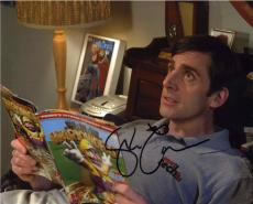 Steve Carell 40 Year Old Virgin Autographed Signed 8x10 Photo Authentic JSA COA