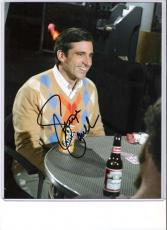 "STEVE CARELL ""40 YEAR OLD VIRGIN"" Signed 8x10 Color Photo"