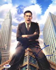 Steve Carell Anchorman 2 Autographed Signed 8x10 Photo Certified PSA/DNA COA
