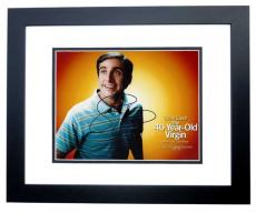 Steve Carell Signed - Autographed The 40-Year-Old Virgin 8x10 Photo BLACK CUSTOM FRAME