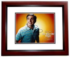 Steve Carell Signed - Autographed The 40-Year-Old Virgin 8x10 Photo MAHOGANY CUSTOM FRAME