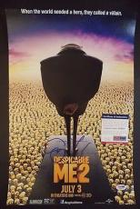 "Steve Carell ""despicable Me 2"" Signed Autographed 12x18 Mini Poster Psa/dna Coa"
