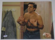 Steve Carell Signed 11x14 Photo Authentic Autograph 40 Year Old Virgin Psa B