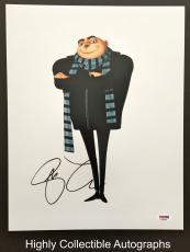 Steve Carell Signed 11x14 Photo Autograph Psa Dna Coa Despicable Me