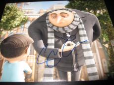 STEVE CARELL SIGNED AUTOGRAPH 8x10 PHOTO DESPICABLE ME PROMO IN PERSON COA NY D