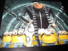 STEVE CARELL SIGNED AUTOGRAPH 8x10 PHOTO DESPICABLE ME PROMO IN PERSON COA NY K