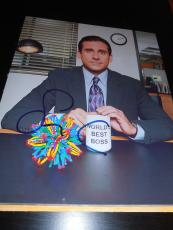 STEVE CARELL SIGNED AUTOGRAPH 8x10 PHOTO THE OFFICE PROMO NBC IN PERSON COA NY