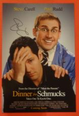 STEVE CARELL SIGNED AUTOGRAPHED 12x18 MOVIE POSTER DINNER FOR SCHMUCKS