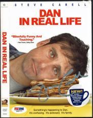 Steve Carell Signed Dan In Real Life DVD Slip Cover PSA/DNA #Z55777
