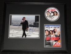 Steve Carell Signed Framed Get Smart 16x20 Photo & DVD Display JSA