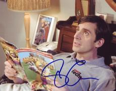 STEVE CARELL signed *THE 40 YEAR OLD VIRGIN* 8X10 COA B