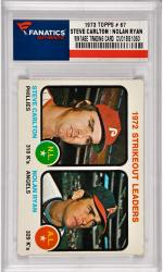 Steve Carlton / Nolan Ryan Philladelphia Phillies /California Angelss 1973 Topps #67 Card