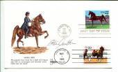 Steve Cauthen HOF Horse Racing Jockey Triple Crown Winner Signed Autograph FDC