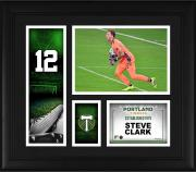 """Steve Clark Portland Timbers Framed 15"""" x 17"""" Player Core Collage"""