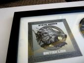 Steve Harris Iron Maiden British Lion Autograph Signed CD Page Beckett Certified