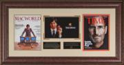 Steve Jobs - Laser Engraved Signature Framed Apple Tribute