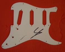 Steve Lukather Signed Autographed Guitar Pickguard Ringo Starr Band Toto