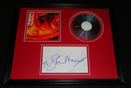 Steve Mackey Signed Framed 11x14 CD & Photo Display The Stooges Funhouse