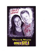 Steve & Maria-signed post card