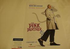 Steve Martin Signed Pink Panther 11x17 Movie Poster Photo Psa/dna Coa Q60254