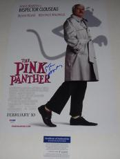 Steve Martin Signed Pink Panther 12x18 Movie Poster Photo Psa/dna Coa P64092