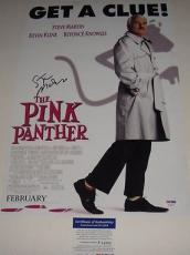 Steve Martin Signed Pink Panther 12x18 Movie Poster Photo Psa/dna Coa P64093
