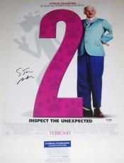 Steve Martin Signed Pink Panther 12x18 Movie Poster Photo Psa/dna Coa P64094