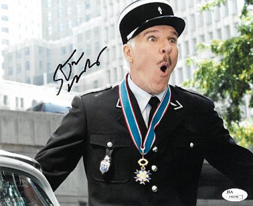 Steve Martin signed Pink Panther Movie 8x10 Photo- JSA Hologram #T40094 (movie/entertainment)