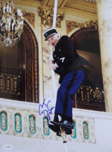 Autographed Steve Martin Photograph - RARE PINK PANTHER 11x14 JSA