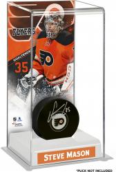 Steve Mason Philadelphia Flyers Deluxe Tall Hockey Puck Case