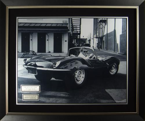 Steve McQueen - Jaguar XK-SS Fine Art Original Photograph Fr