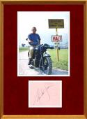 Steve McQueen Signed Autograph Display - JSA