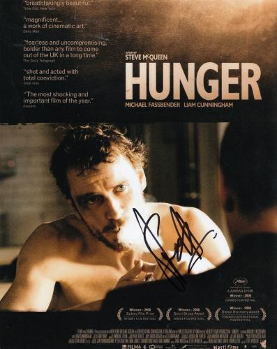 STEVE MCQUEEN signed (HUNGER) MOVIE Poster 8X10 *DIRECTOR* photo W/COA