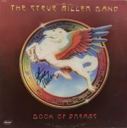 Steve Miller Autographed The Steve Miller Band Book of Dreams Album Cover With Black Ink - PSA/DNA COA