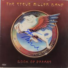 Steve Miller Autographed The Steve Miller Band Book of Dreams Album Cover With Blue Ink - PSA/DNA COA