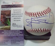 Steve-o Jackass Movie Jsa Coa Signed Autographed Major League Baseball Rare A