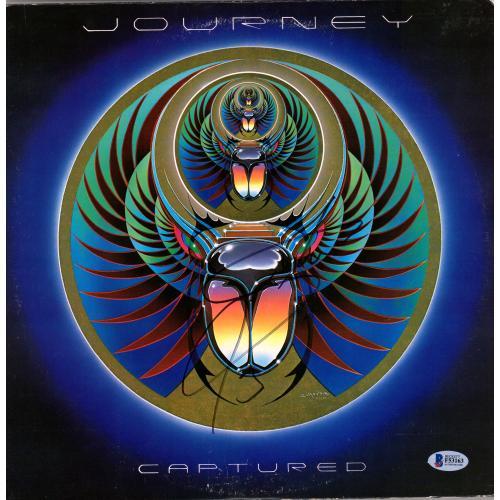 Steve Perry Journey Autographed Captured Album - BAS