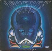 Steve Perry Journey Autographed The Frontier Album Cover - BAS