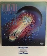 Steve Perry Signed Journey Escape Album Vinyl Lp Authentic Autograph Beckett Coa