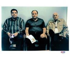 Steve Schirripa Autographed Signed 8x10 Photo The Sopranos PSA/DNA #U93991