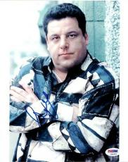 Steve Schirripa Autographed Signed 8x10 Photo The Sopranos PSA/DNA #U94563