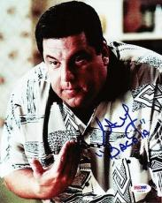 Steve Schirripa Autographed Signed 8x10 Photo The Sopranos PSA/DNA #U94565