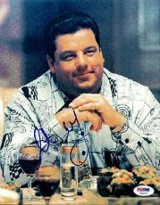 Steve Schirripa Autographed Signed 8x10 Photo The Sopranos PSA/DNA #U94571