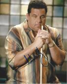 """STEVE SCHIRRIPA - Best Known as BOBBY BACCALIERI in """"SOPRANOS"""" Signed 8x10 Color Photo"""
