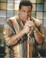 "STEVE SCHIRRIPA - Best Known as BOBBY BACCALIERI in ""SOPRANOS"" Signed 8x10 Color Photo"