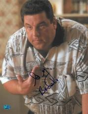 Steve Schirripa Signed Sopranos Autographed 11x14 Photo (PSA/DNA) #J60545